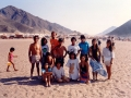 Na plaży w Besique - luty 1991r.