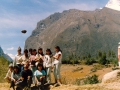 Spacer do Huaraz - 2 sierpnia 1990r.