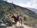 O. Michał w drodze do górskiej wioski