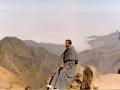 Chwila zamyślenia w górach