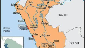 Stato nella parte occidentale dell'America Latina, sul Pacifico