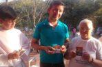 Areguá. Wprowadzenie relikwii błogosławionych Męczenników