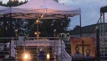 Modlitwa na barce z Męczennikami z Pariacoto
