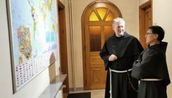 Ojciec Generał w Biurze Promocji Kultu Męczenników z Pariacoto