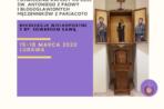 Franciszkańskie rekolekcje i kaplica ku czci św. Antoniego i Męczenników z Pariacoto w Lubawie