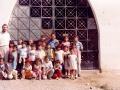 O. Michał z dziećmi w Quisquis, jednej z kaplic dojazdowych parafii Pariacoto