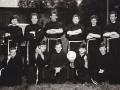 Franciszkańska drużyna piłkarska - pierwszy z prawej o. Michał