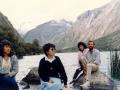Jezioro Llanganuco - 1 czerwca 1990r.