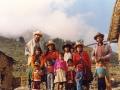 O. Michał odwiedzając parafian w górach