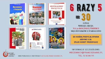 Akcja 6×5 na 30. rocznicę męczeńskiej śmierci Męczenników z Pariacoto
