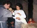 O. Zbigniew udziela chrztu